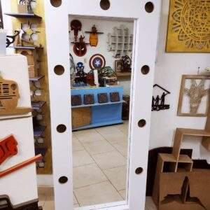 Espejo camerino en madera MDF