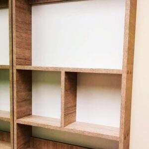 centro de entretenimiento en madera