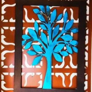 cuadro naturaleza en madera MDF