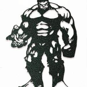 Hulk geometrico en madera MDF