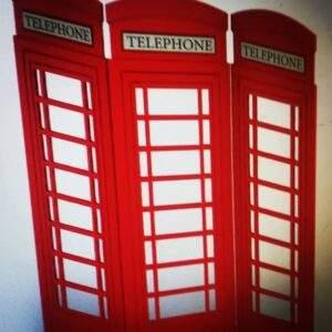biombo cabina telefónica